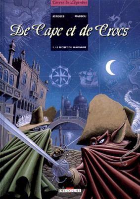 Couverture De cape et de crocs, tome 01 : Le Secret du Janissaire