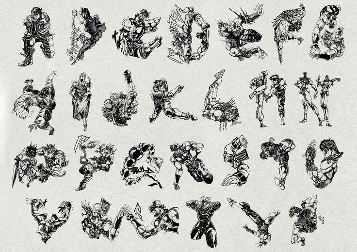JOJO'S STRANGE TYPE - UENISHI YURI WORKS