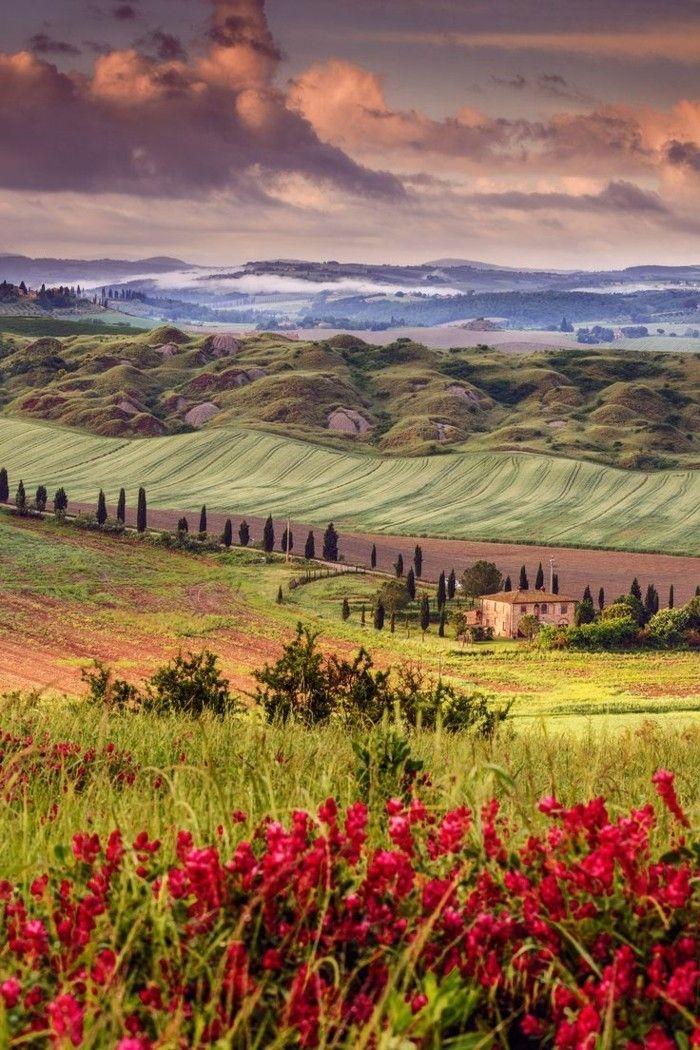les plus beaux paysage du monde, agritourisme toscane                                                                                                                                                                                 Plus