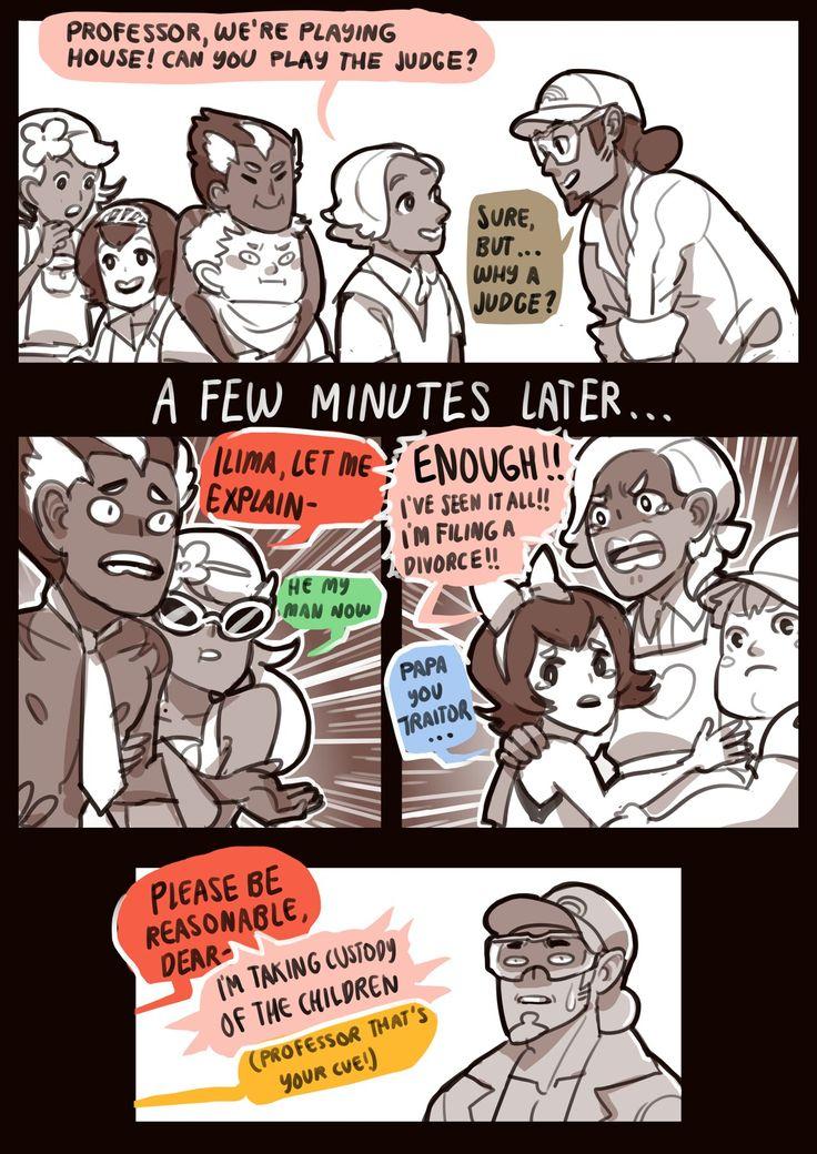 Haha. Family court