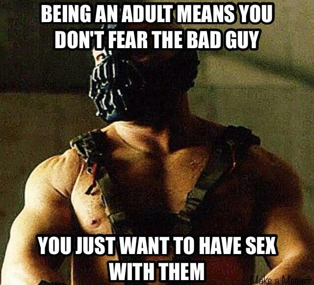 With Bane (T Hardy)? Most definitely!