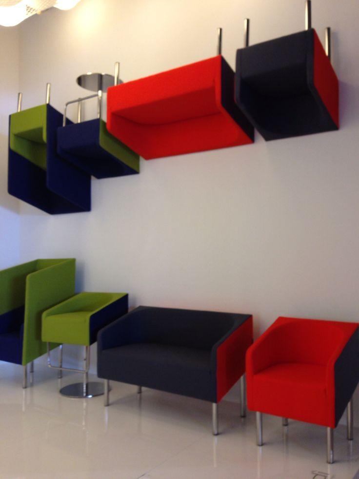 Cocodi [design @Simone Micheli]  Salone del Mobile Pad.16 E44  #salonedelmobile2015 #designweek2015 #waitingsofas