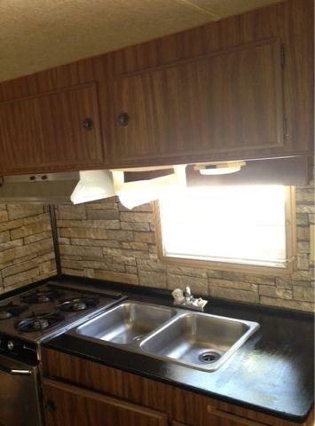 Rv Countertop and Backsplash DIY| RV Remodeling ideas| resurface countertops