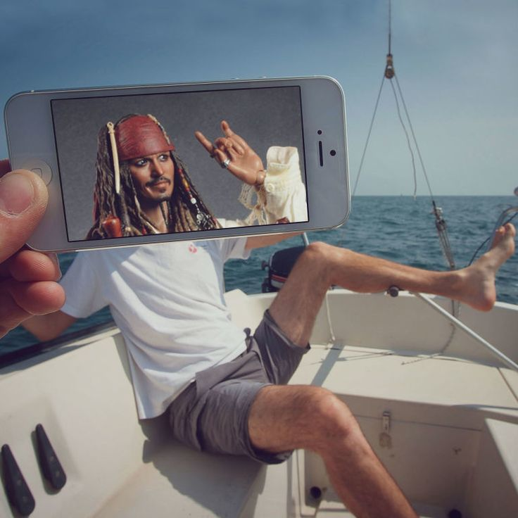 Pirates of the Caribbean (2003) 19 Creative Photos That Perfectly Combine Movie Moments With Real Life • Page 2 of 6 • BoredBug