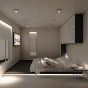 Residential Program • House in Brasov • Romania • Bedroom render