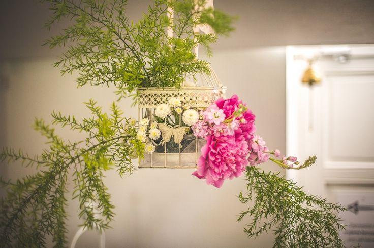 #wedding #flowers #pink #rustic