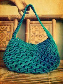 Macrame Comunitee: Macrame Bag