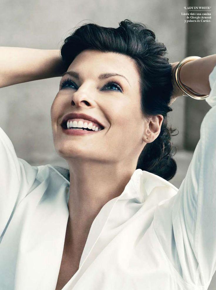 Linda Evangelista for Vanity Fair Spain
