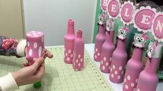 decoracion de botellas con globos                                                                                                                                                                                 Más
