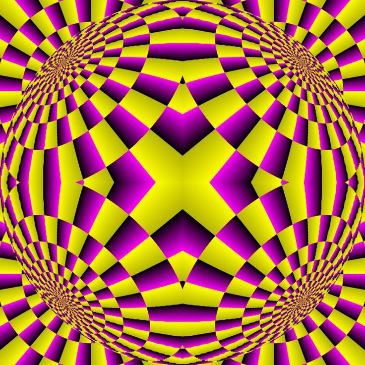 Картинки двигающиеся обман иллюзия
