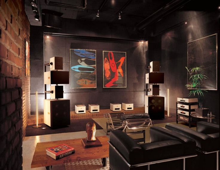 142 best designer theater audiophile listening rooms - Salon hifi home cinema ...
