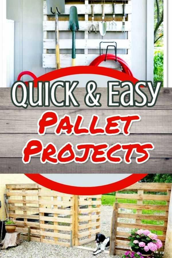Easy Pallet Furniture Projects For Beginners 15 Diy Pallet