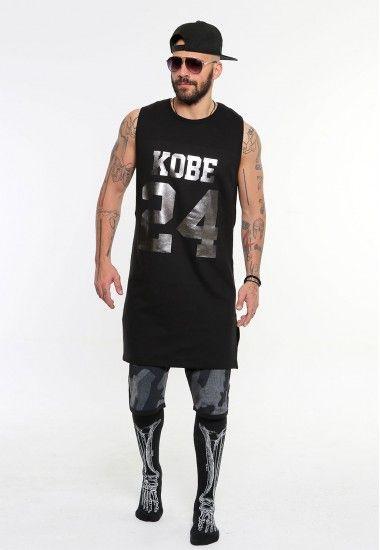 kobe 24  #vagrancylifestyle #handmade #top #man #sleeveless #tshirt