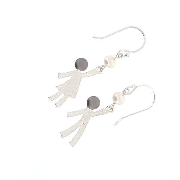 Ruby & Oliver Pearl Earrings