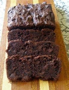 Gluten Free Double Chocolate Zuchinni Bread! Delicious!