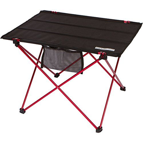 Camping Tables   Trekology Foldable Camping Picnic Table Portable Compact  Lightweight Folding Rollup Table In A Bag Small Light And Easy To Carry For  Travel ...