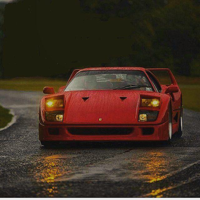 #Ferrari #F40 #italiandesign