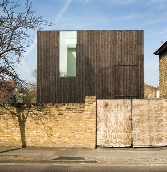 """David Adjaye"" prefabricated building ""De Beauvoir Town"" Hackney Timber"