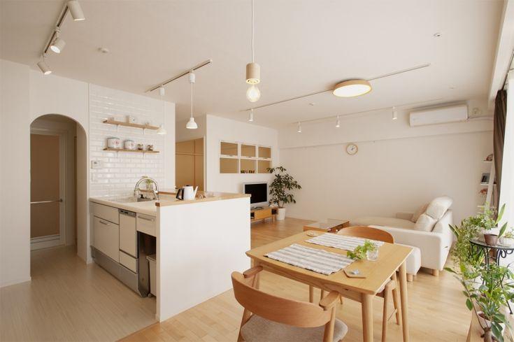 LDK-2(SU邸・明るくさわやかに ここから始まる2人の暮らし) - キッチン事例|SUVACO(スバコ)