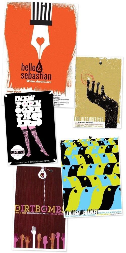 indie music poster design  