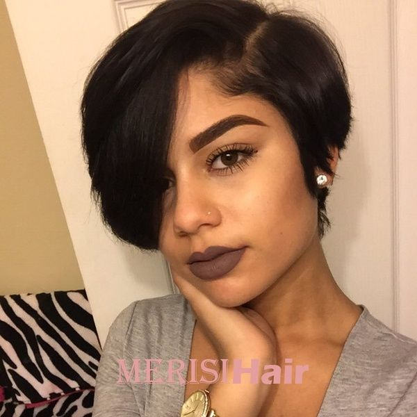 Black Hair Wigs Women Short Wigs With Bangs Size With Wig Cap Perruque Parrucca Paryk Wish Hair Styles Black Hair Wigs Short Bob Hairstyles