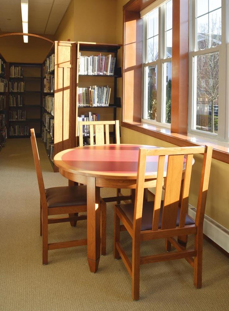 Library furniture @ Gill St Bernards School