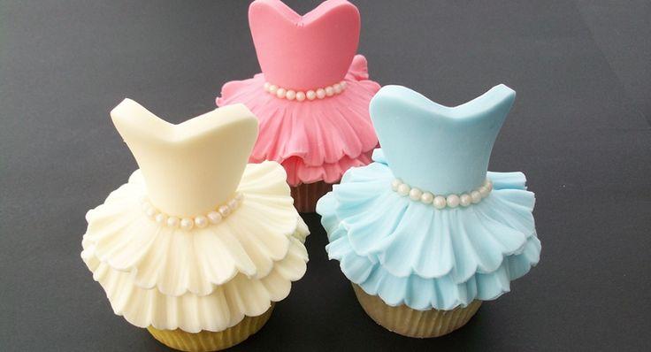 Comment faire des cupcakes ballerine!