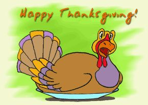Happy Turkey Day Animated Thanksgiving Dinner Holiday Celebration Feast And Other Food Animation Clip Art Pictures That Move