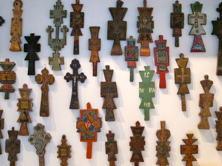 I have only one of these crosses.  I guess I need to be more ambitious and collect them all.  From the Village Museum in București.
