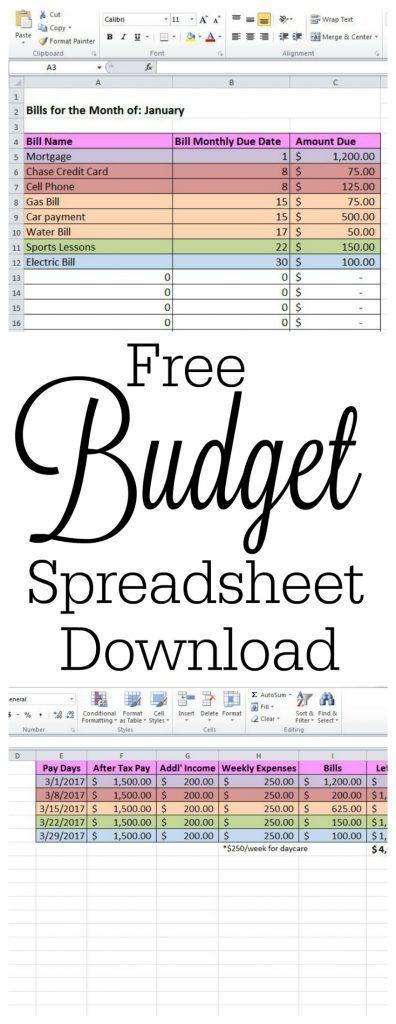 20+ parasta ideaa Pinterestissä Budget spreadsheet template - google invoices templates free