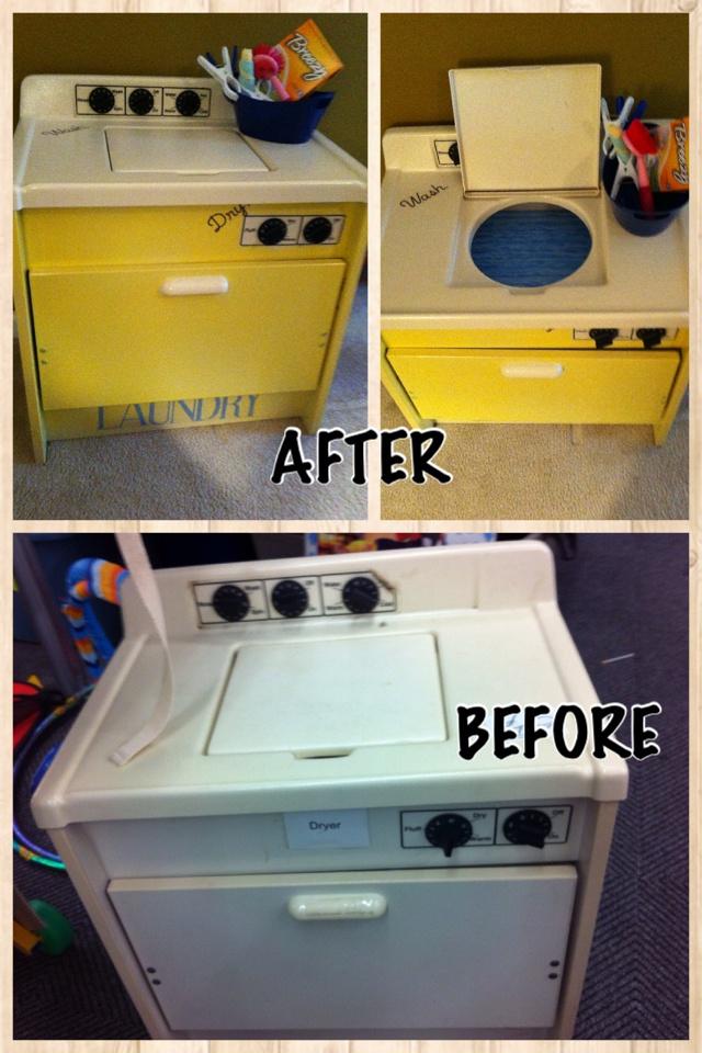 adornboutique hand restored resale item hand restored wooden washer dryer to complete your. Black Bedroom Furniture Sets. Home Design Ideas