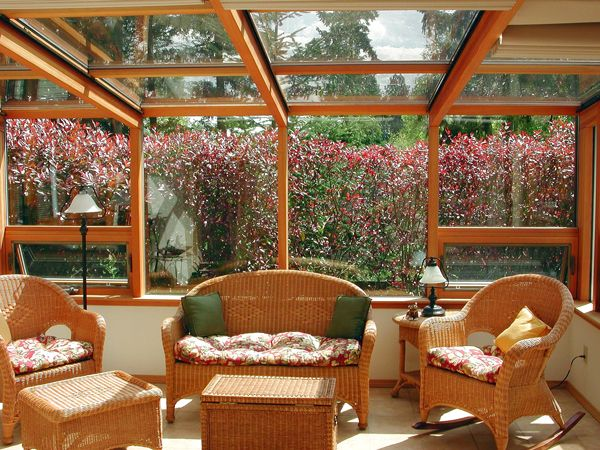hate the furniture, love the conservatory space
