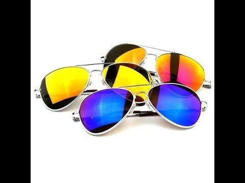 Best FRAMEWORK - Classic Color Full Mirrored Aviator Sunglasses