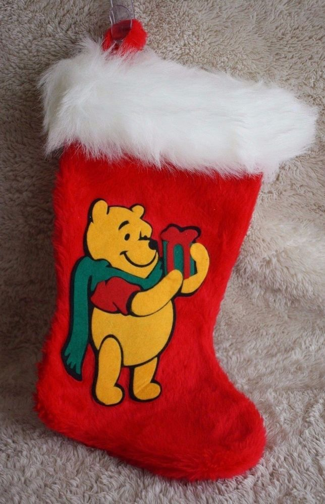 Personalized winnie the pooh christmas stockings