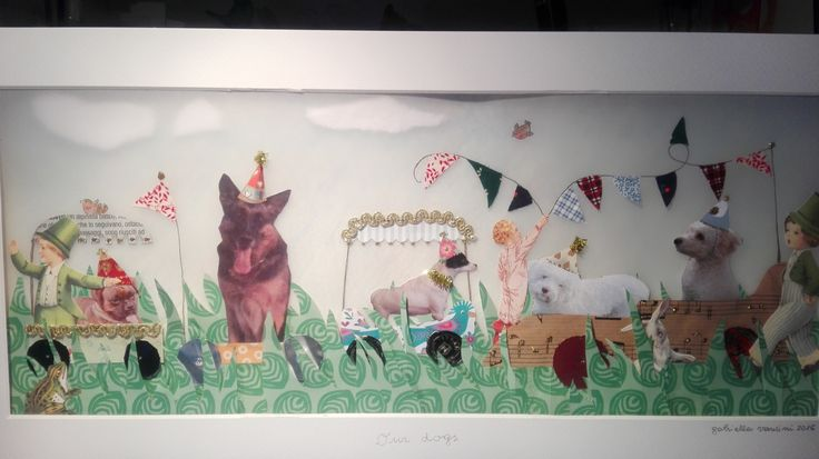 Our dogs by Gabriella Vantini