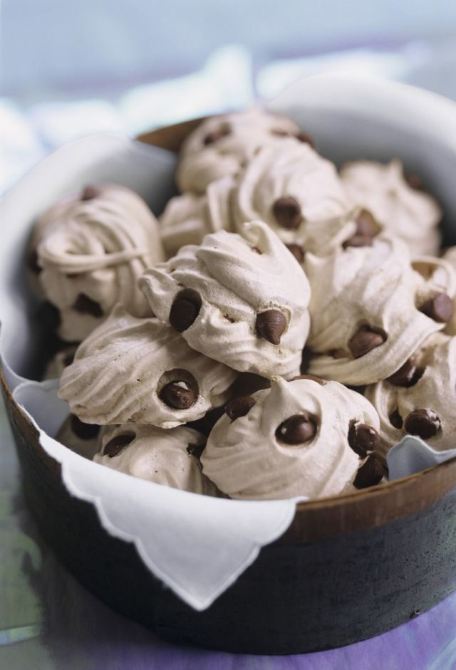 These Chocolate Chip Meringue Cookies are so delicious, you'll make them every chance you get.