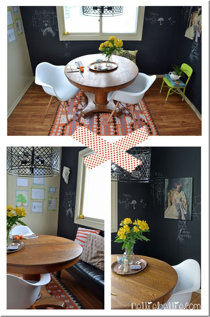 Decorating A Dining Room In An Eclectic Casual Style