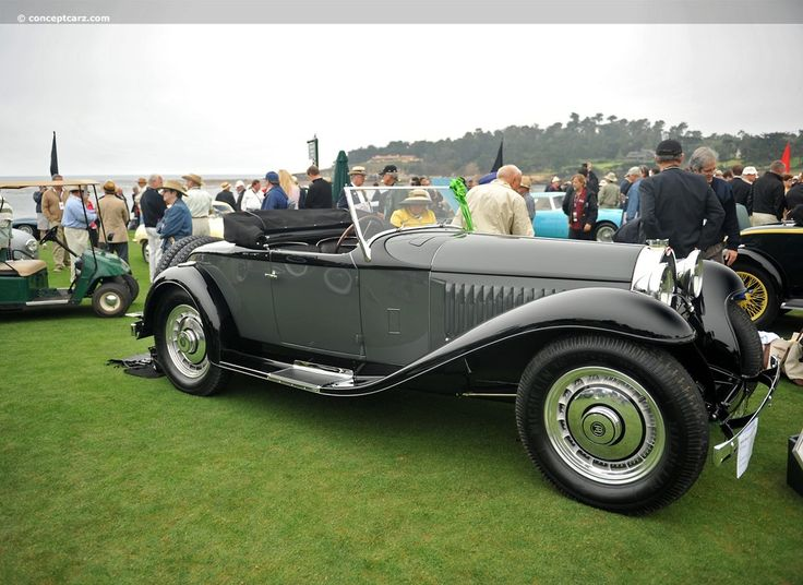 Looking for images of the 1931 Bugatti Type The 1930 to 1933 Bugatti Type 50 is in essence a scaled-down sporting coupe version of the Type 46 Royale.