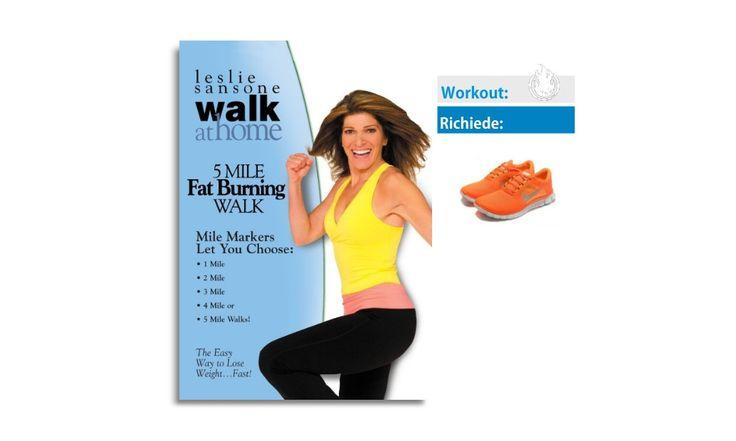 walk at home workout - Il programma di leslei per camminare - funziona - prima e dopo - dimagrire camminando - dvd - youtube video - streaming e download