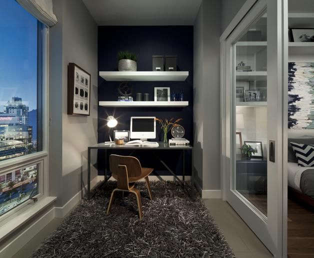 Small Study Off A Master Bedroom, Excellent View! | Www.cdgdesign.com