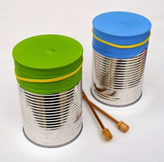 Image result for μουσικα οργανα απο ανακυκλωσιμα υλικα