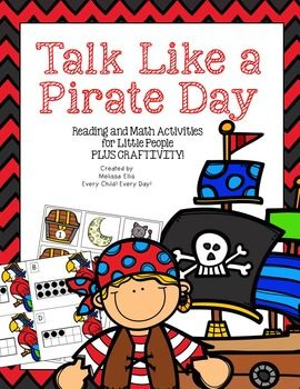 Celebrate Talk Like a Pirate Day with these pirate themed reading and math…