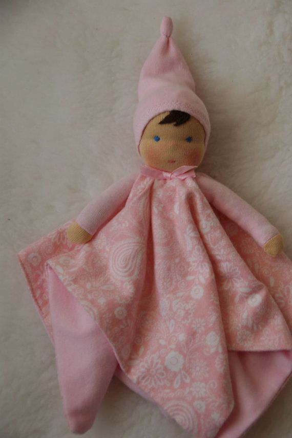Organic Waldorf doll, for baby