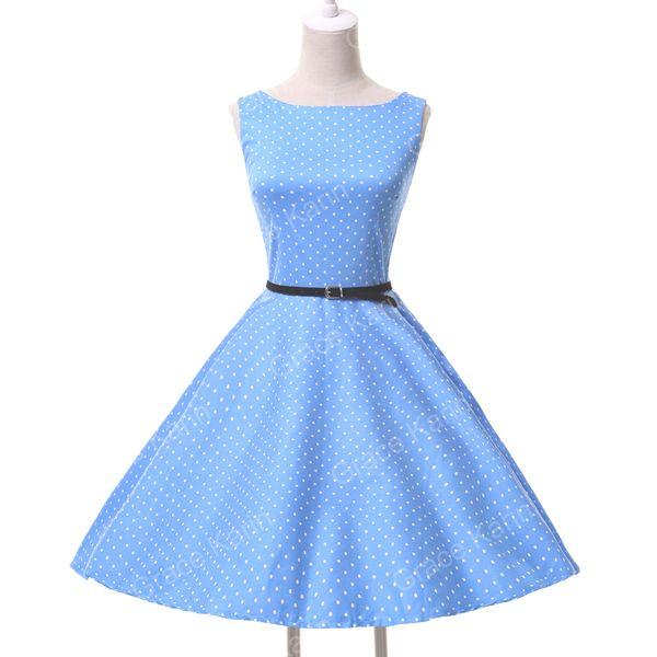 13 cores graça Karin 2015 nova Plus Size mulheres imprimir Vintage dos anos 60 s estilo Rockabilly Pin up balanço Prom Ball vestido Retro CL6086 em Vestidos de Roupas & acessórios no AliExpress.com | Alibaba Group