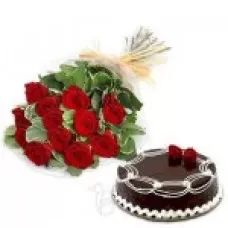 Roses Combo, Valentine Combo, Red Roses