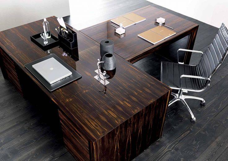 Стол письменный, выполненный в стиле арт-деко, дизайн GC Colombo на заказ в Москве — Maximus