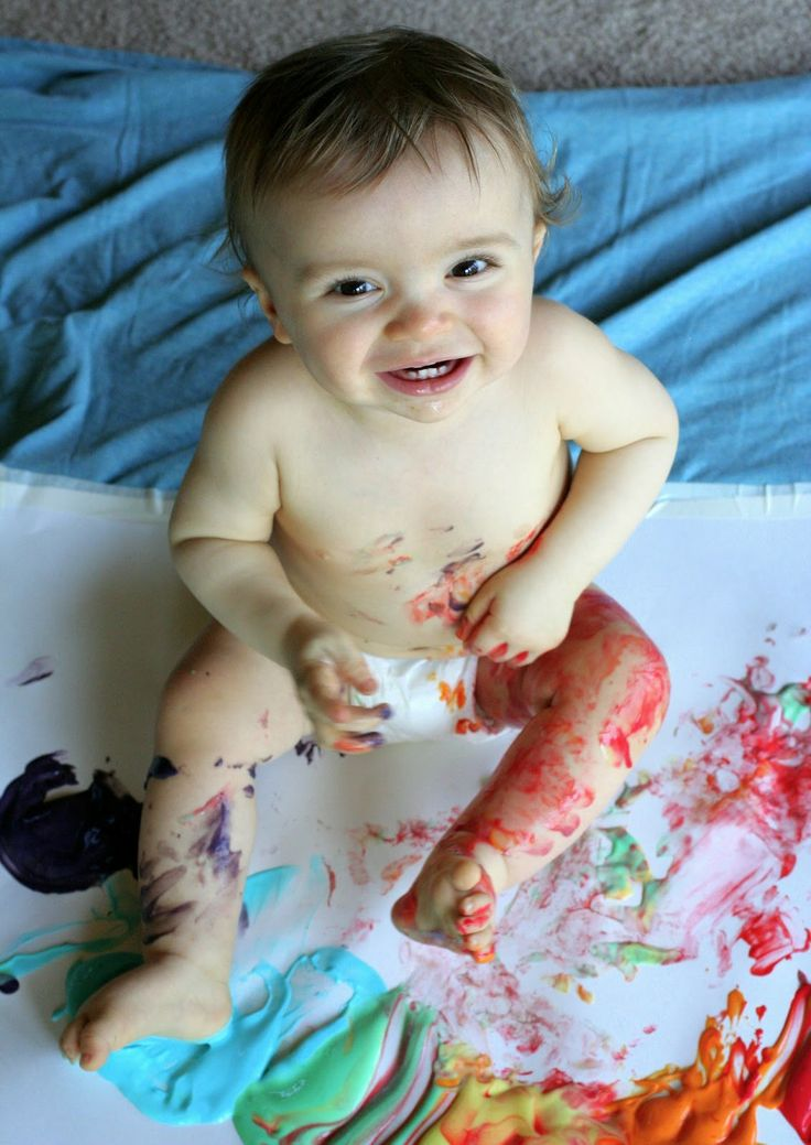 Recipe for Scented Homemade Edible Paint for all ages! | Fun at Home with Kids