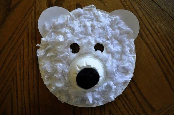 Masque d'ours polaire   La cabane à idées