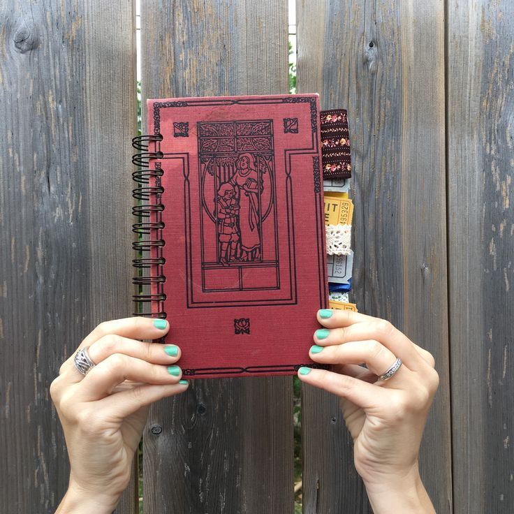 smash book, altered book junk journal by BurkeSevenVintage on Etsy https://www.etsy.com/ca/listing/545275182/smash-book-altered-book-junk-journal