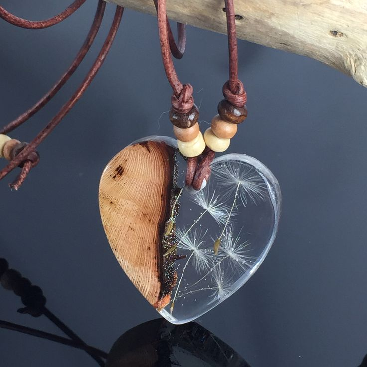 Wunderschöne Pusteblumen -Halskette von ZeitlosSchmuckDesign☺️